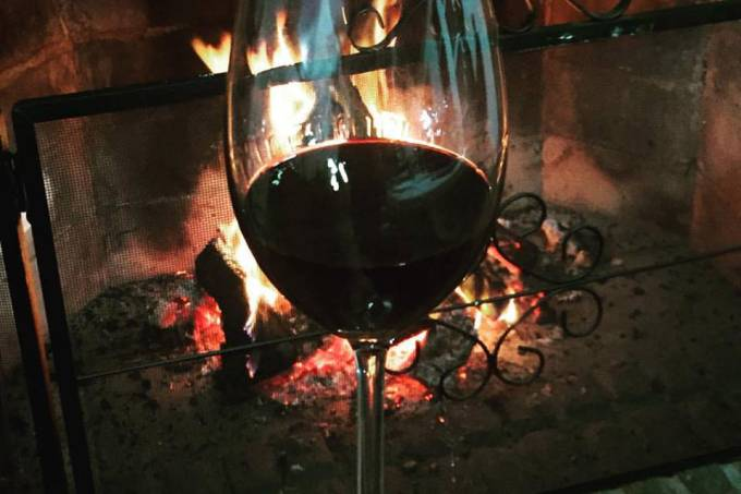 vinho e fogo