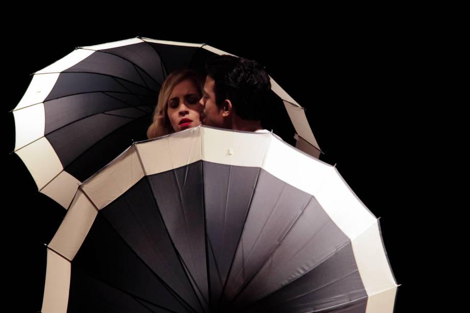 Letícia Iecker e Diego Carneiro