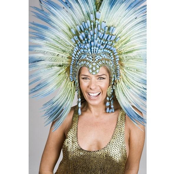 Apaixonada por Carnaval, a loira já esteve à frente das baterias da Acadêmicos da Rocinha e da Portela. De 2007 a 2011, reinou na Unidos da Tijuca. Em 2010, grávida de seu primeiro filho, a apresentadora não caiu do salto e brilhou, ajudando a escola a c<br>