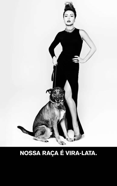 A apresentadora Sabrina Sato também foi fotografada por Jacques Dequeker.<br>