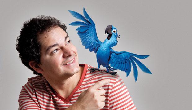 Criador das encantadoras araras-azuis da animação Rio, o diretor carioca Carlos Saldanha levou as belezas da cidade para 150 milhões de pessoas espalhadas por setenta países.<br>