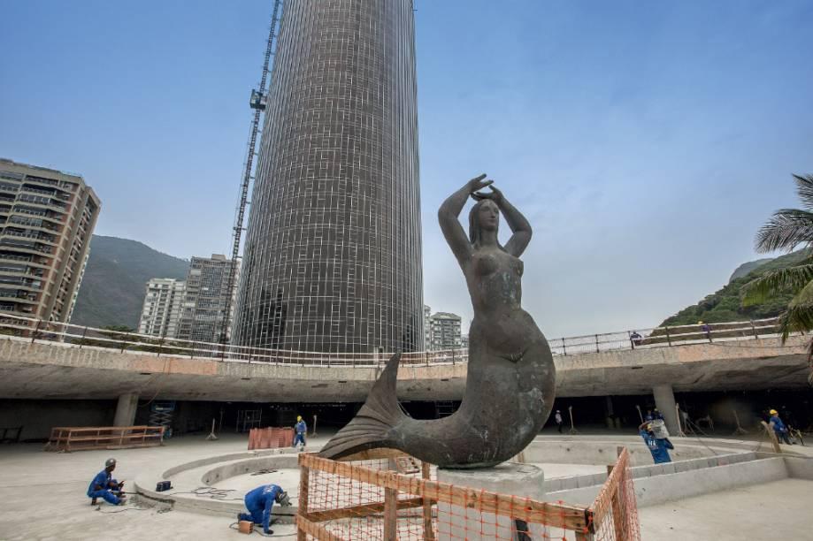 2) Hotel Nacional: Fechado há vinte anos, o prédio projetado por Oscar Niemeyer e inaugurado em 1972 será um hotel administrado pela rede Meliá. Com investimento previsto de 400 milhões de reais, oferecerá 417 apartamentos e um novo centro de convenções. › Junho de 2016