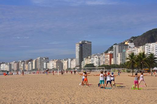 Praia de Copacabana<br>