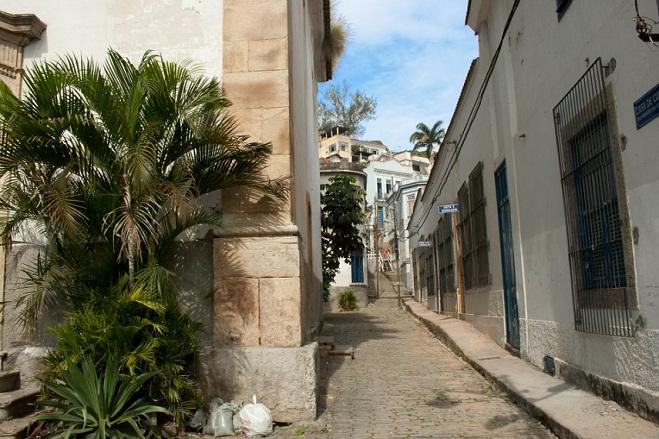 Região do Morro da Conceição está na área do Porto Maravilha<br>