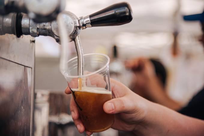 Cervejas artesanais na Barra
