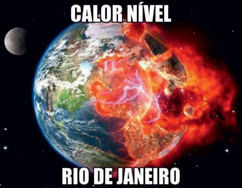 CAlor Os picos de temperatura castigaram os cariocas. Depois do tórrido verão, a primavera também não deu refresco nas oscilações do termômetro
