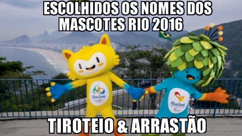 A volta dos arrastões, assaltos seguidos de morte e confrontos entre bandidos e policiais assustaram os cariocas, mas também renderam piadas ácidas nas redes sociais