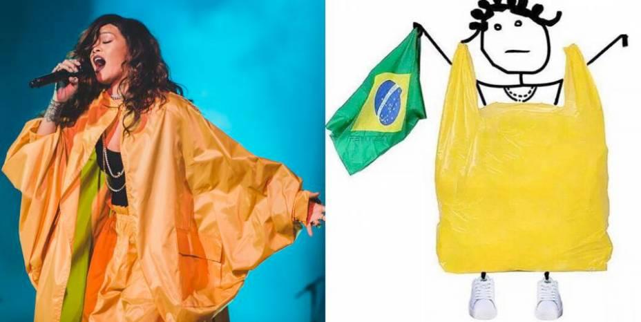 Com poucas atrações de renome, o festival bombou na internet depois que a cantora Rihanna apareceu vestida com uma estranha roupa amarela em seu show, na mais concorrida entre as sete noites