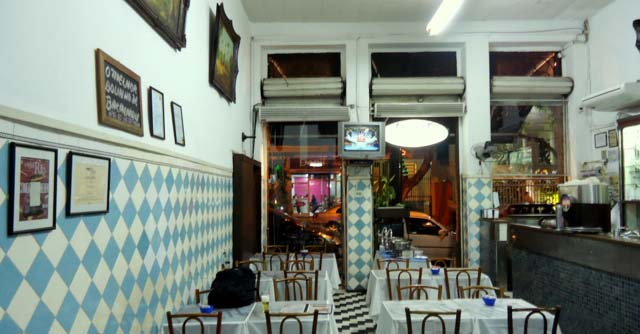 O bar Salete existe desde 1957, na Tijuca.
