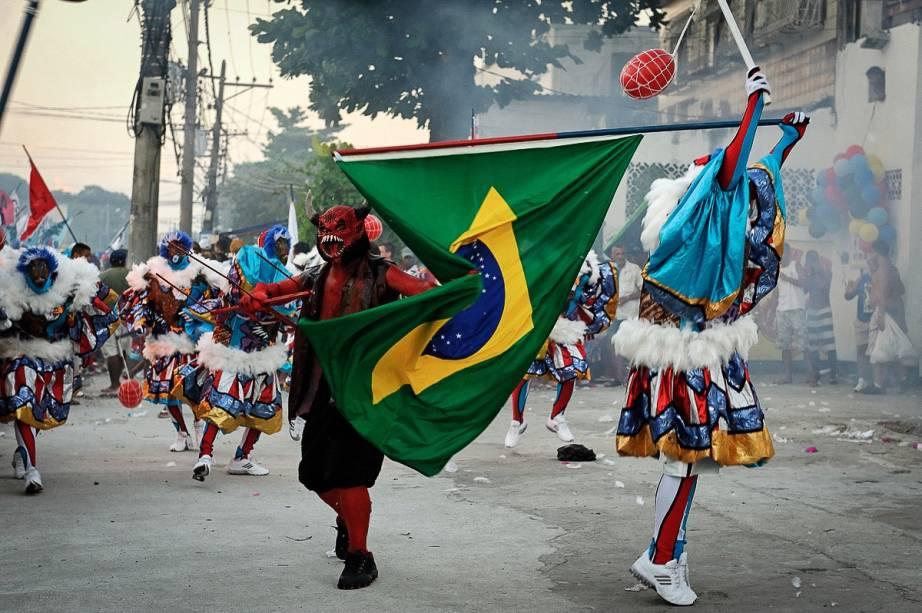 A festa do subúrbio no Carnaval