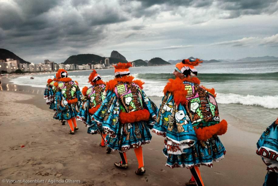 Turma do Índio em Copacabana