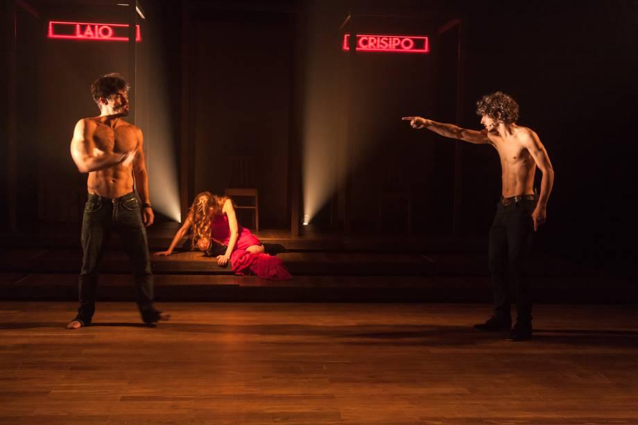 Laio & Crísipo: triângulo amoroso com Jocasta, inspirado no mito grego