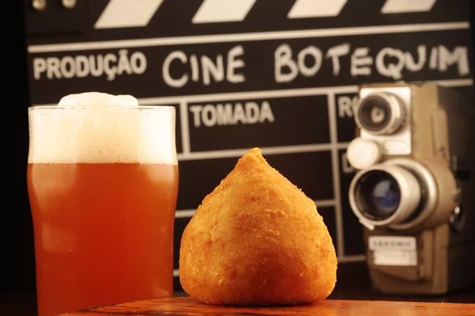 coxinha Cine Botequim