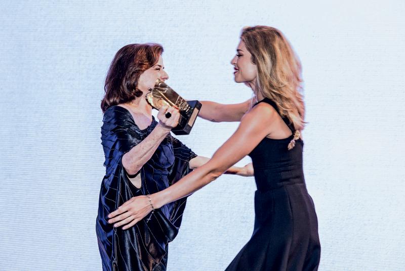 Gilberto Gil com a filha Bela