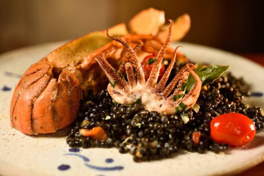 Sabores da ilha: receitas da Sardenha destacam-se no cardápio