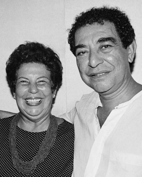 Nana Caymmi e João Nogueira na Casa de Samba