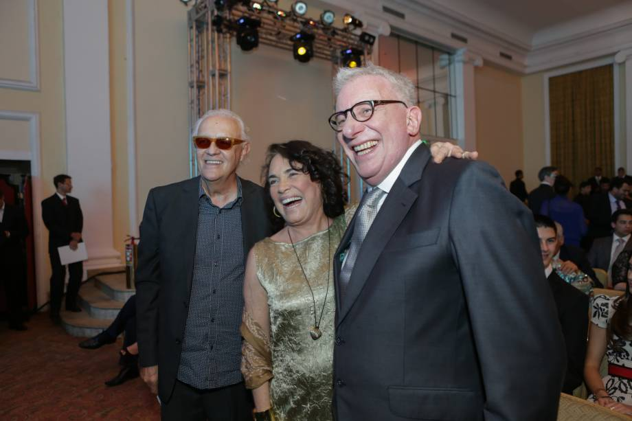 Ney Latorraca, Regina Duarte e Marco Nanini