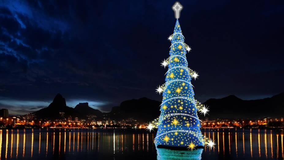Decoração deste ano apresenta o tema Um Natal de Luz
