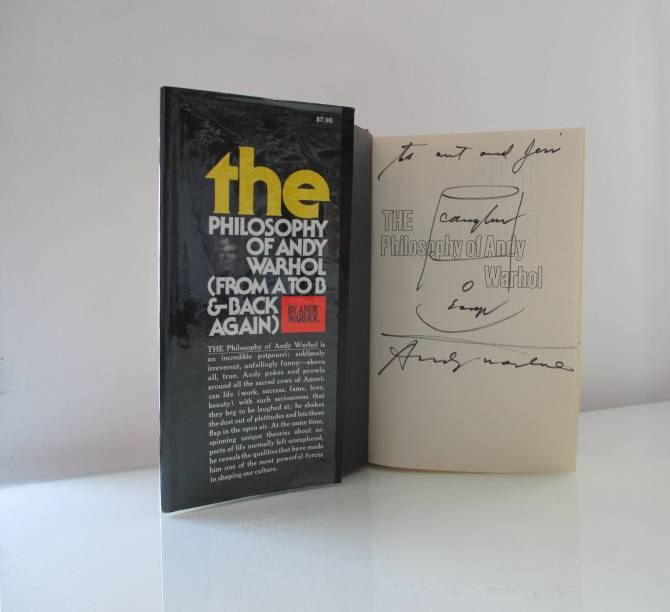 The Philosophy of Andy Warhol (From A to B and Back Again), de 1975: óleo sobre papel, de Andy Warhol