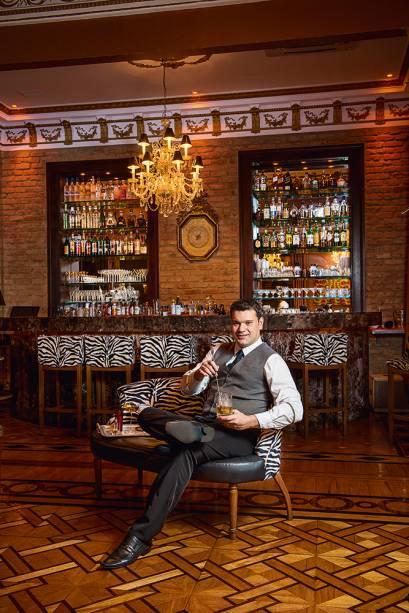 Alex Mesquita, do Paris Bar