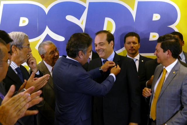 Aecio Neves Filiação Carlos Osorio ao PSDB