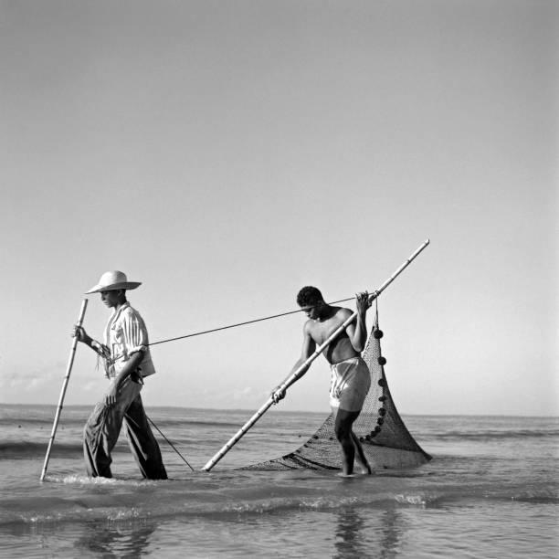 Pescadores, ilha Mexiana, Pará, c. 1943: foto de Marcel Gautherot