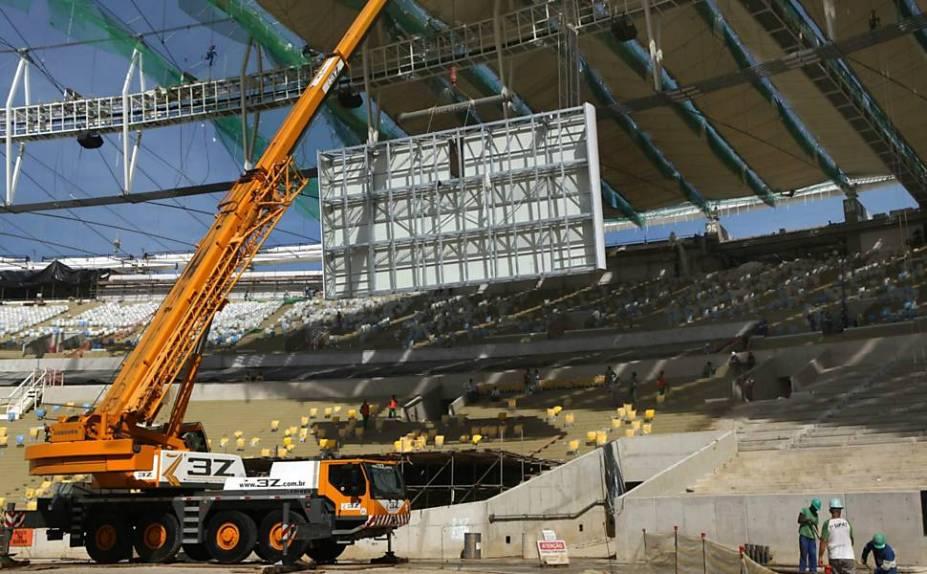 92% do estádio já está terminado.<br>