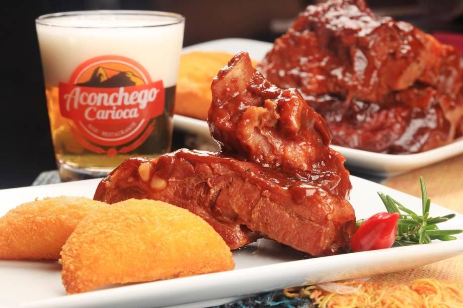 Costelinha com goiabada: delícia do Aconchego