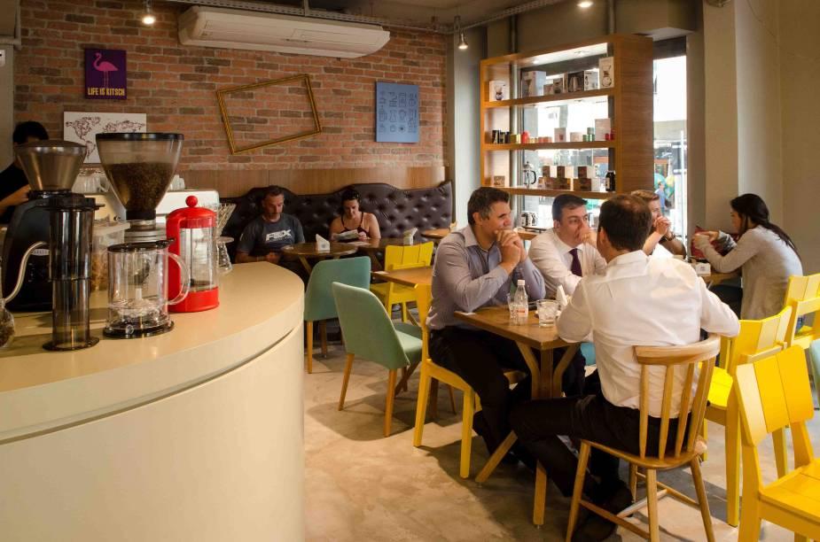 Sofá Café: novidade em Copacabana