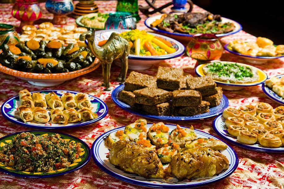 Natal com receitas árabes
