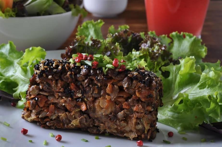 Biocarioca: assado de lentilha