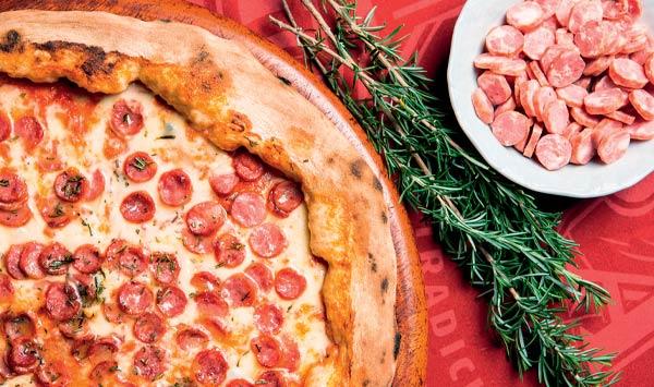 Bráz: melhor pizza