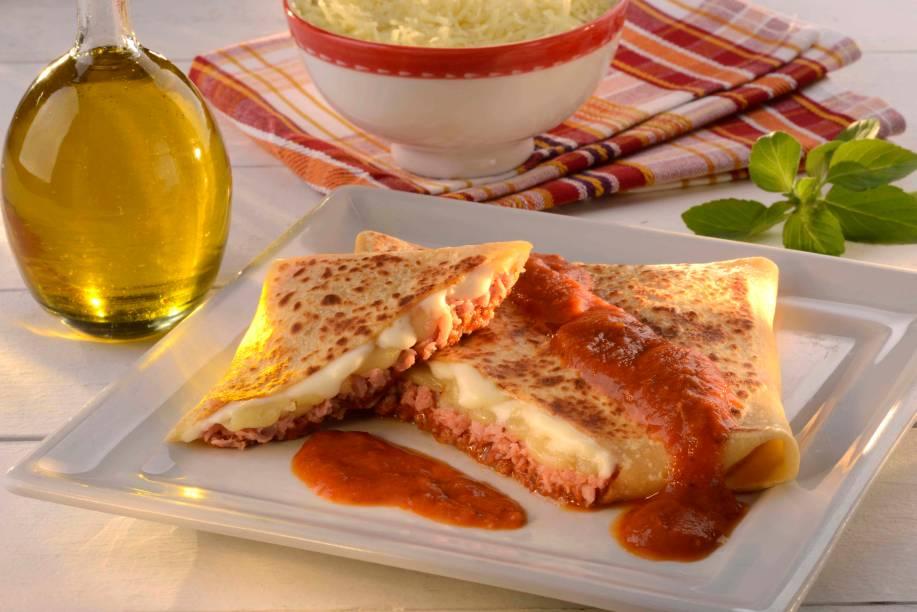 Crepe lasanha: no Crepelocks