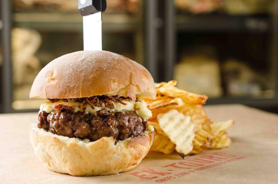 Ex-Touro: burger de 200 gramas