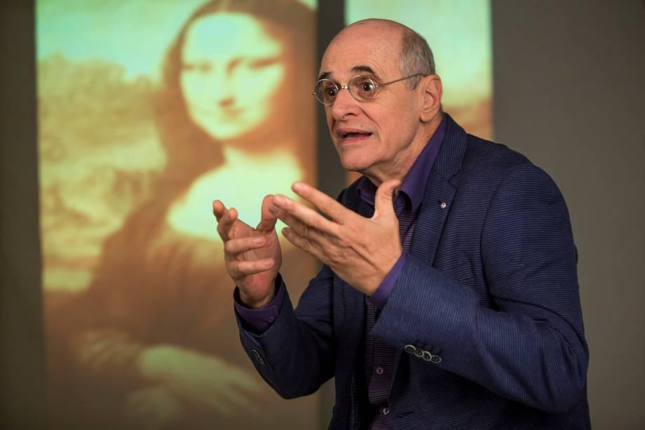 Marcos Caruso estrela solo sobre polêmicas da arte