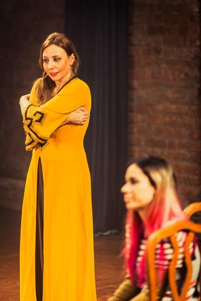 Patrícia Selonk e Andressa Lameu: no novo trabalho da Armazém Companhia de Teatro