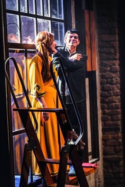 Patrícia Selonk e Tomás Braune: no novo trabalho da Armazém Companhia de Teatro