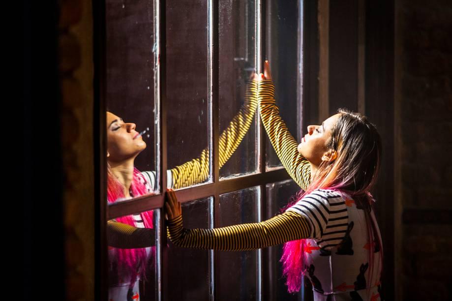 Andressa Lameu: no novo trabalho da Armazém Companhia de Teatro