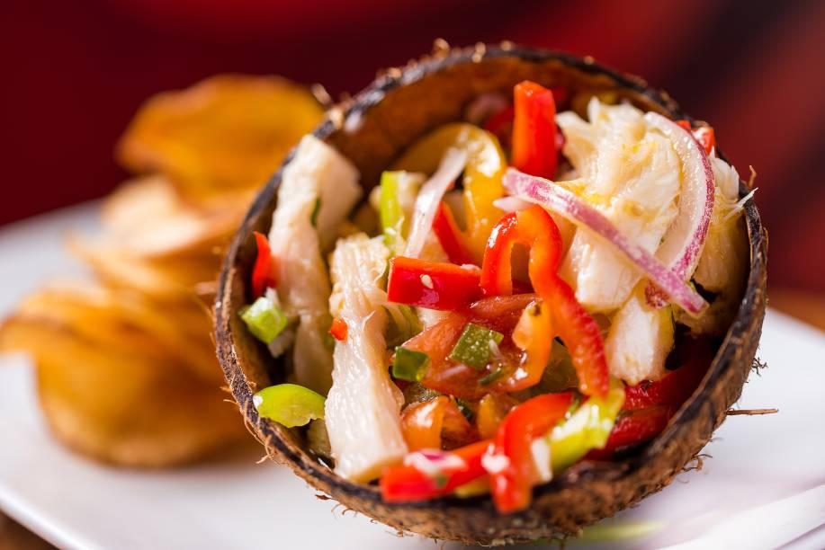 Ceviche de bacalhau: novidade para a Páscoa