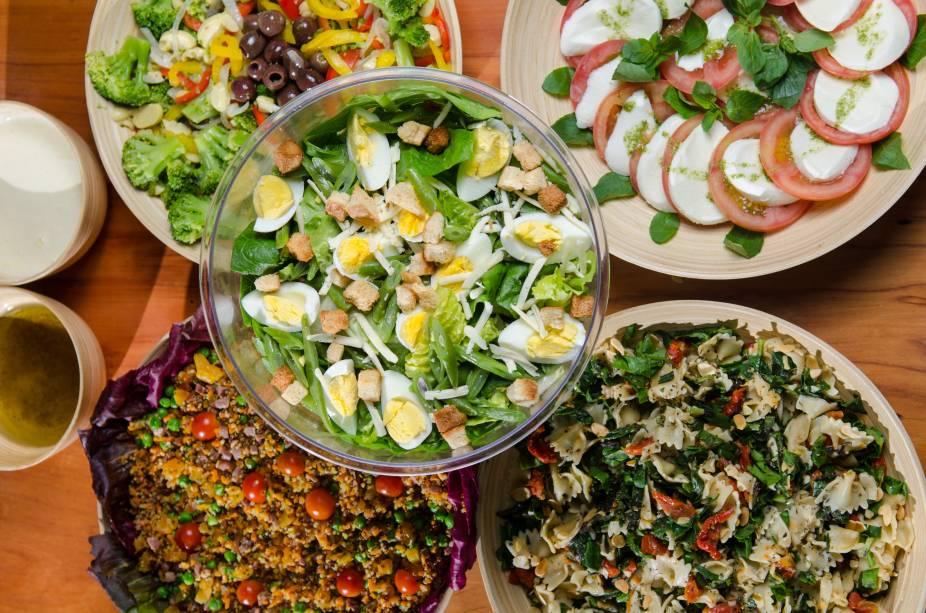 Saladas do Mironga: acompanhamentos para os grelhados