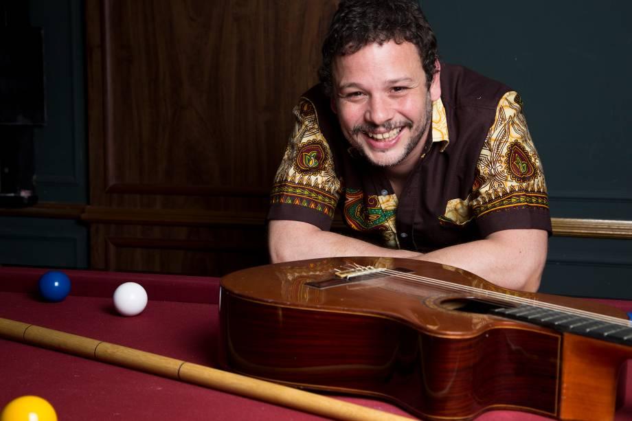 O sambista Moyseis Marques abre o projeto