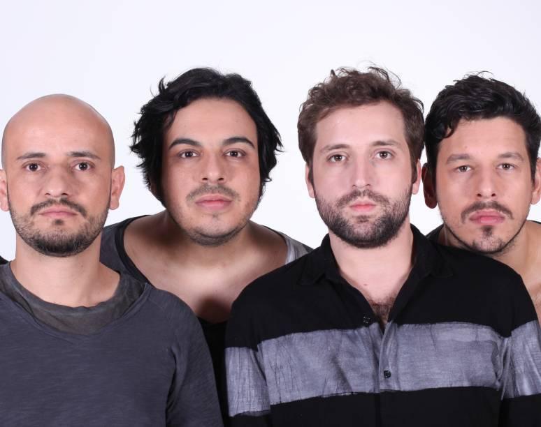 Gustavo Miranda, Luis Lobianco, Gregorio Duvivier e João Vicente de Castro: uma história nova a cada dia