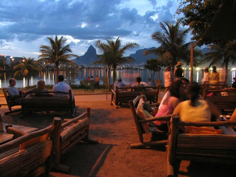 Vista privilegiada da Lagoa é trunfo do Palaphita Kitch