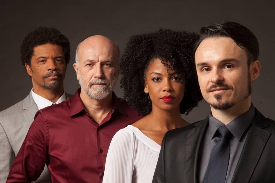O elenco de Race: drama de David Mamet levanta questões raciais