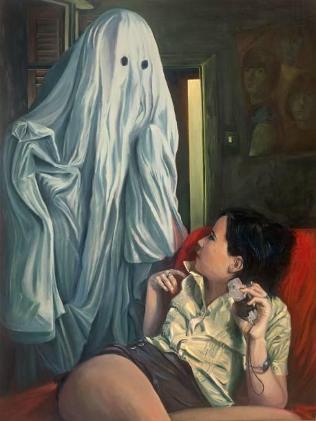 Retrato de Família, pintura de Roberto Ulhoa