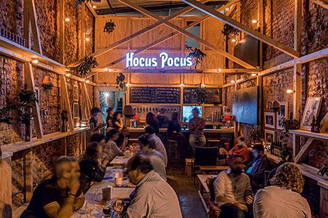 Hocus Pocus: a cervejaria ganha casa própria de clima despojado