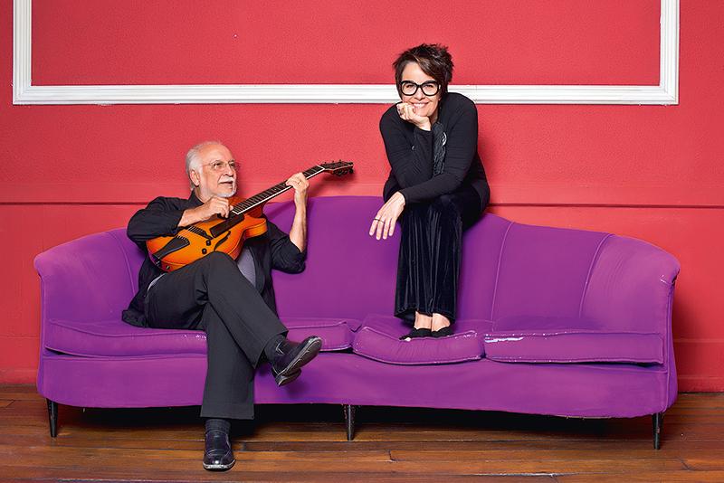 Menescal e Leila: homenagem à bossa nova