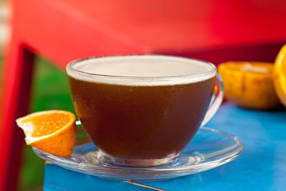 Espresso mandarin: novidade do Sobe