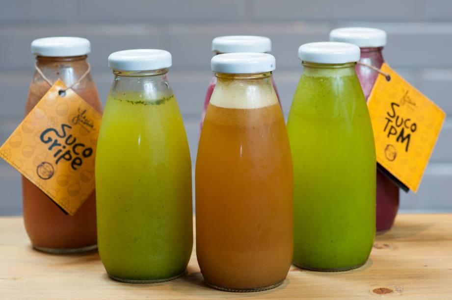 Sucos saborosos e funcionais