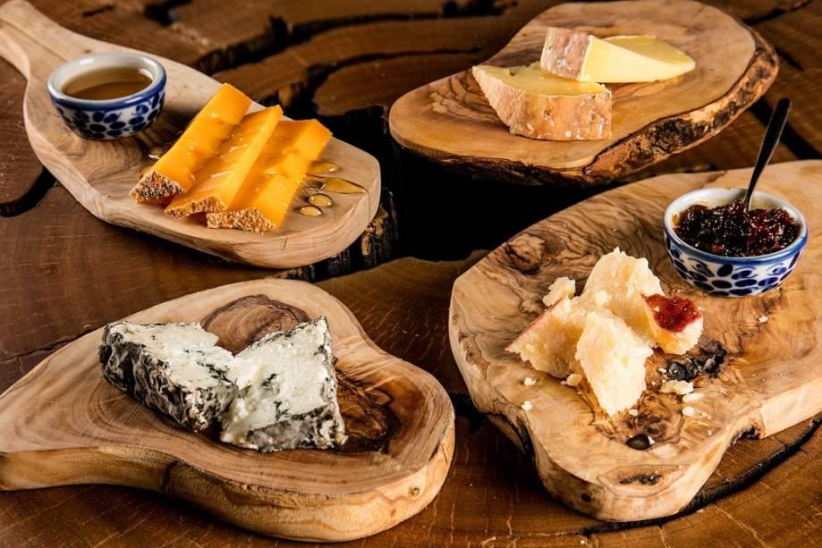 Tábua de queijo: seleção inclui ótimos exemplares nacionais